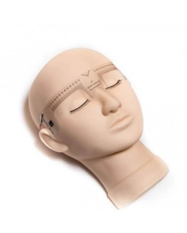 Miarka elastyczna do symetrii łuków brwiowych